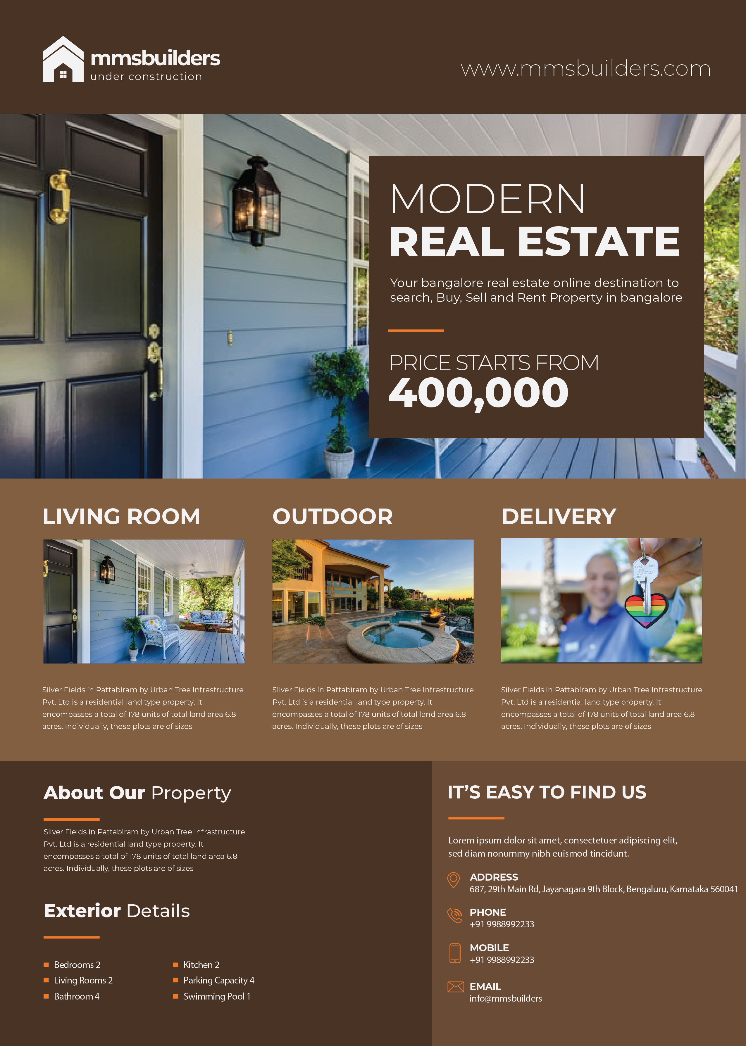 Real Estate Promo Flyer_bangaloredigitalmarketing